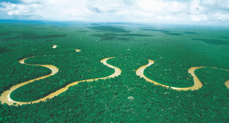 River Manu National Park
